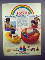 1980 Tonka Scrub Tug & Rainbow Top Toy Ad!