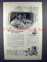 1926 Heisey's Glassware Ad - His Thrill is No Greater