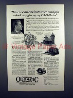 1926 Williams Oil-o-Matic Heat Ad, James Oliver Curwood