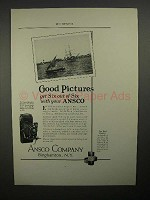 1923 Ansco No. 1 A Speedex Camera Ad
