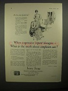 1928 Ivory Soap Ad - When Expensive Experts Disagree