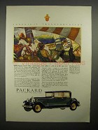 1930 Packard Custom Eight 5-passenger Coupe Car Ad