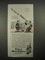 1935 Pabst Blue Ribbon Beer & Ale Ad!