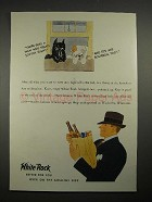 1935 White Rock Water Ad - Treats Scotch Right!