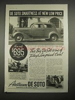 1935 DeSoto Touring Sedan Car Ad - Smartness