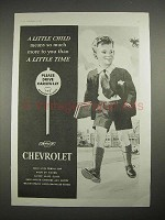 1935 Chevrolet Car Ad - Little Child Means Much More