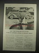 1935 Packard 120 Car Ad - After 45 Million Miles