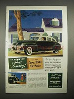 1941 DeSoto Car Ad - 17 Feet of Sheer Beauty