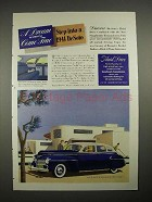 1941 DeSoto Car Ad - A Dream of Driving Come True