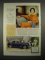 1941 Studebaker Land Cruiser Ad - Mrs. Lawrence Tibbett
