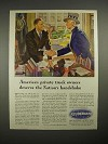 1944 WWII Studebaker Truck Ad - Uncle Sam