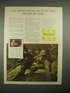 1944 WWII Packard Car Ad - Jap Bayonet Put Out of Fight