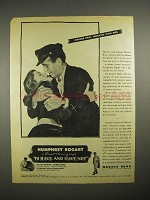 1944 To Have and Have Not Movie Ad - Humphey Bogart