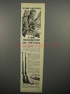 1952 Winchester Model 70, Model 61 Rifle Ad!