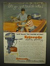 1955 Evinrude Outboard Motor Ad - Let's Go!