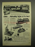 1958 Lionel Trains Ad - No. 175 Rocket Launcher +