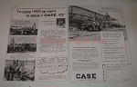 1959 Case 420 Loader / Backhoe Ad - Saving by Owning