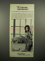 1965 Simplicity Sewing Pattern Ad - Pamela Tiffin