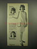 1966 Simplicity Sewing Pattern Ad - Anita Gillette