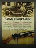 1973 Marlin 120 Pump Gun Shotgun Ad