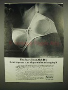 1973 Sears Tricot Ah-h Bra Ad - Improve Shape