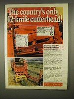 1973 Sperry New Holland 770 Forage Harvester Ad