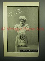 1908 Gold Medal Flour Ad - Again, I Say Don't Be Odd