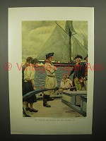 1908 Illustration by Howard Pyle - Sailors