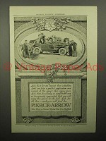 1913 Pierce-Arrow Car Ad - Engine That is Faultless