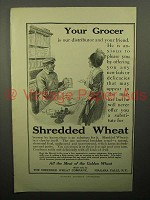 1913 Shredded Wheat Cereal Ad - Your Grocer