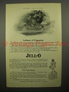 1918 Jell-o Desert Ad - Swiftness of Preparation