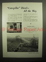 1938 Caterpillar Diesel D8 Tractor Ad - All the Way