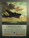 1943 WWII Studebaker Flying Fortress Ad - By Request