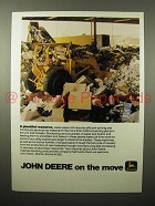 1975 John Deere Loader Ad - A Plentiful Resource