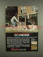 1975 Schwinn Varsity Sport Bicycle Ad - Independence