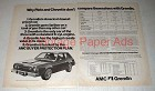 1975 AMC Gremlin Car Ad - Don't Compare