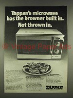1976 Tappan Model No 56-4565 Microwave Ad