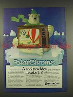 1976 Hitachi Model CT-926 Television Ad - PolarChrome