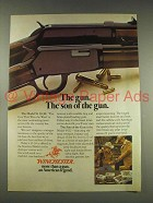 1976 Winchester Model 9422 Rifle Ad - Son Of The Gun