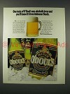 1991 O'Doul's Beer Ad - One Taste and You'll Know