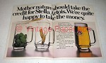 1978 Stella Artois Beer Ad - Happy to Take The Money