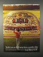 1982 E&J Brandy Ad - Just Away from a Perfect Day