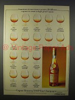 1978 Hennessy VSOP Fine Champagne Cognac Ad
