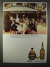 1984 Hine Cognac Ad - Savour the Moment