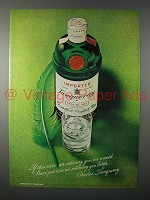 1971 Tanqueray Gin Ad - If This Were An Ordinary Gin