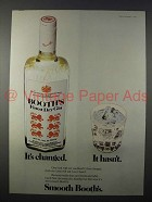1973 Booth's Dry Gin Ad - It's Changed, It Hasn't