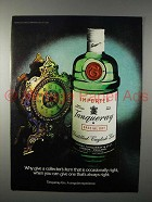 1981 Tanqueray Gin Ad - Give One That's Always Right