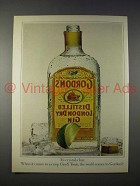 1979 Gordon's Gin Ad - It's Crystal-Clear