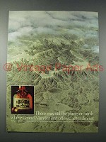 1980 Grand Marnier Liqueur Ad - There May Still be Places on Earth