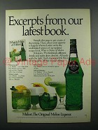 1981 Midori Liqueur Ad - Excerpts From Our Latest Book